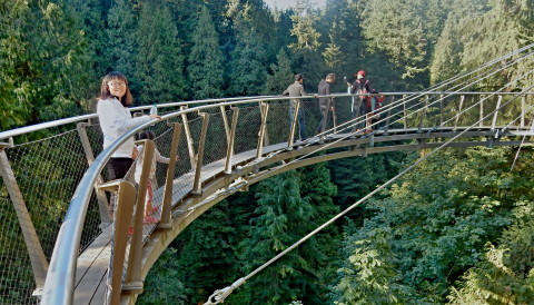 A Fun Day at Capilano Suspension Bridge Park