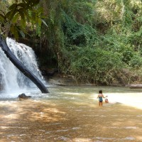 Hug Elephants Waterfall