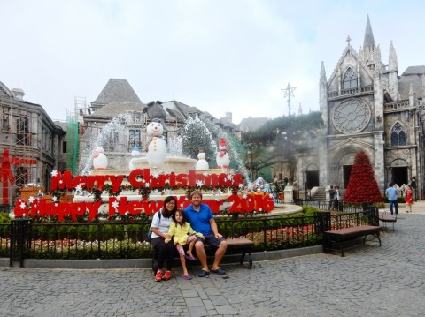 Christmas at Ba Na Hills