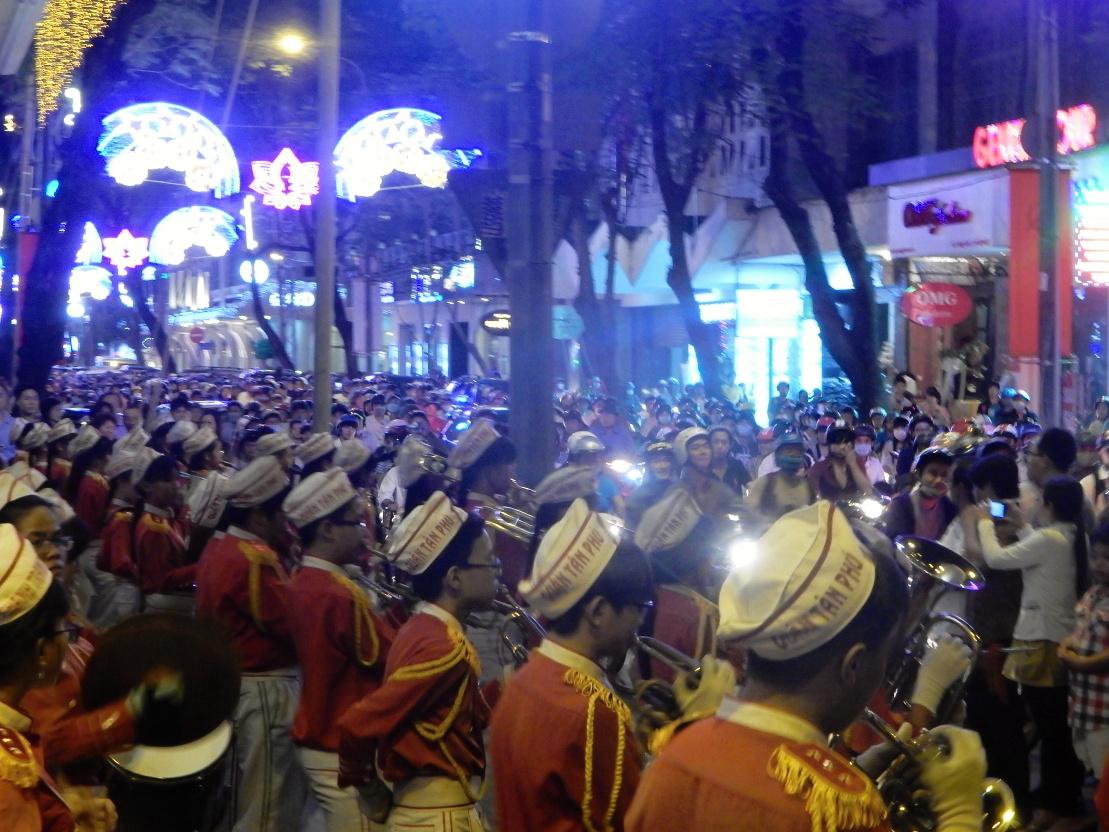 New Year Marching Band Ho Chi Minh