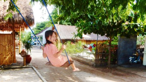 Rae on Swing