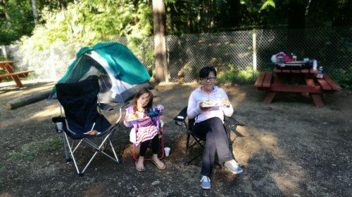 Camping Comox Lake