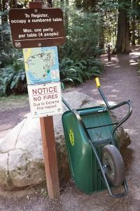 Ruckle Beach Wheel Barrows