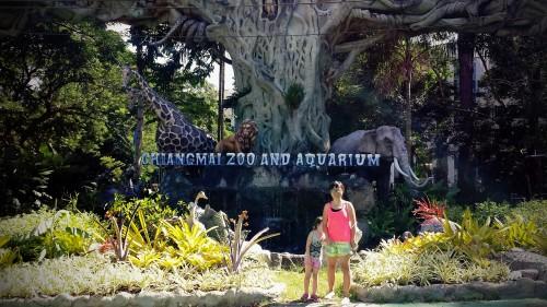 Chiang Mai Zoo Gate