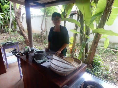 Learn Thai Cooking in the Beautiful Garden
