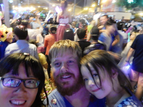 New Year's Eve in Ho Chi Minh City