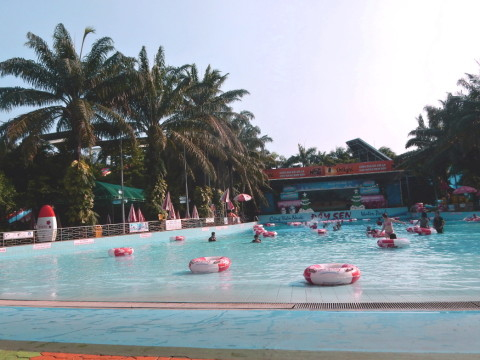 Dam Sen Water Park in Ho Chi Minh City