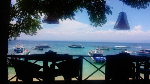 Patio at Nusa Lambongan