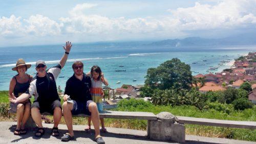 Top of the Mountain at Nusa Lambongan