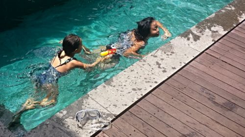 Kaku Villa Swimming