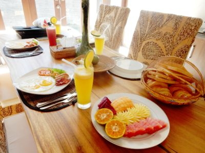 Kaku Villa Breakfast